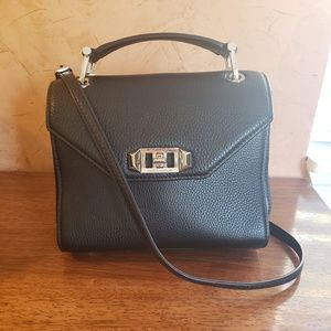 🌿Rebecca Minkoff Black Crossbody Leather Bag🌿